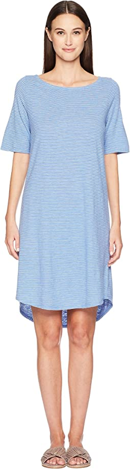 Bateau Neck Dress