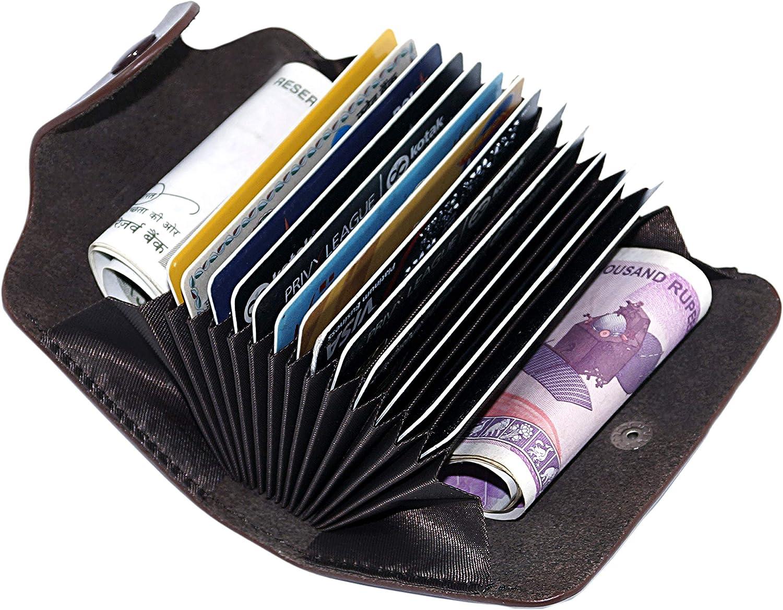 SAITECH IT 13 Slot PU Leather 2 Wallet Outlet sale feature Mone Card Holder Ultra-Cheap Deals Credit
