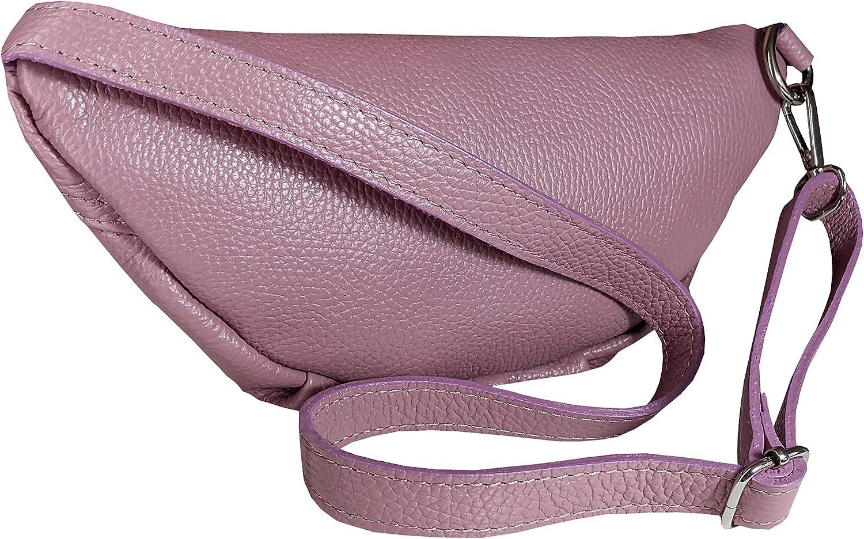Handmade in Italy Skutari/® Emporio Genuine Leather Bum Bag Shoulder Bag with Inner Pocket Fashion Genuine Leather Waist Bag Long Strap Skutari Emporio Classic