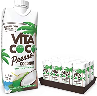 """Vita Coco Coconut Water, Pressed Coconut 