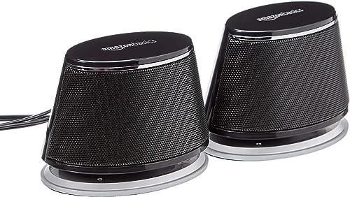 Amazon Basics USB Plug-n-Play Speakers For TV