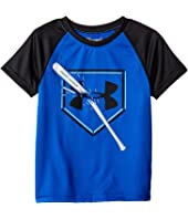 Under Armour Kids - Breaking Bat Raglan Short Sleeve (Toddler)