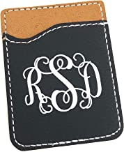Personalized Cell Phone Card Holder Stick On Card Caddy
