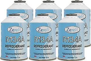 ZeroR R-134a Refrigerant - Made in USA - 12oz Cans (6)