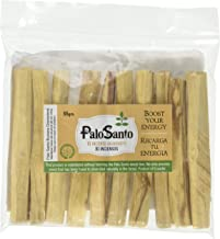 Premium Certified Authentic Ecuadorian Kiln-Dried Palo Santo (Holy Wood) Incense Sticks (10), Wild Harvested, 100% Natural for Purifying, Cleansing, Healing, Meditation and Stress Relief
