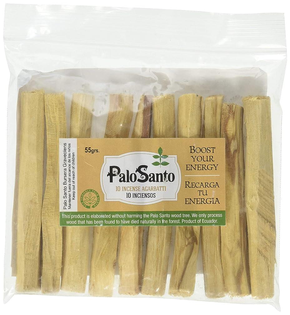 飼い慣らす十一環境プレミアムAuthenticエクアドルkiln-dried Palo Santo ( Holy Wood ) Insence Sticks ( 10?)、野生の収穫、100?%自然のPurifying、クレンジング、ヒーリング、瞑想とStress Relief