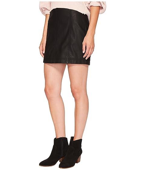 Femme Modern Vegan People Minifalda Free negra 6g0wxBq8n