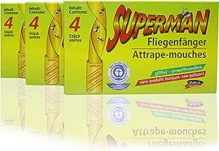 12 trampas adhesivas para colgar para mosquitos, moscas,