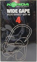 Korda Krank Choddy Karpfen Haken 10pk Stacheldraht Alle Größen Angelzubehör