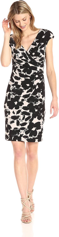 Kasper Womens Printed Ity Dress Dress