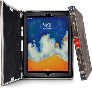 Twelve South BookBook for iPad 2018, iPad 2017, Air 1/2 & iPad Pro 9.7 inch   Hardback Leather Case and Easel for iPad/iPad Pro and Apple Pencil