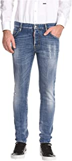 DSQUARED2 - Jeans da skater, taglia M, colore: Blu