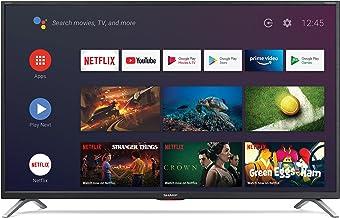 """Sharp Aquos LC-32Bi6E Smart TV 32"""" Android 9.0 10 bit HD Ready LED TV, Wi-Fi, DVB-T2/S2, 1366 x 768 Pixels, Nero, suono Harman Kardon, 3xHDMI 2xUSB, 2020"""