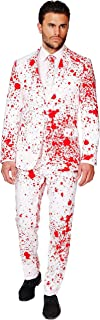 OppoSuits Halloween Costumes for Men In Different Prints – Full Suit: Includes Jacket, Pants and Tie