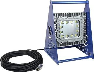 Larson Electronics 0213POVEE2G 150W Explosion Proof LED Light Tower - Quadpod Mount - C1D1-100' Cord with EXP Plug (60°-6-20)