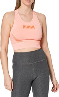 PUMA Women's Evostripe Evoknit Bra Top Sports Bra