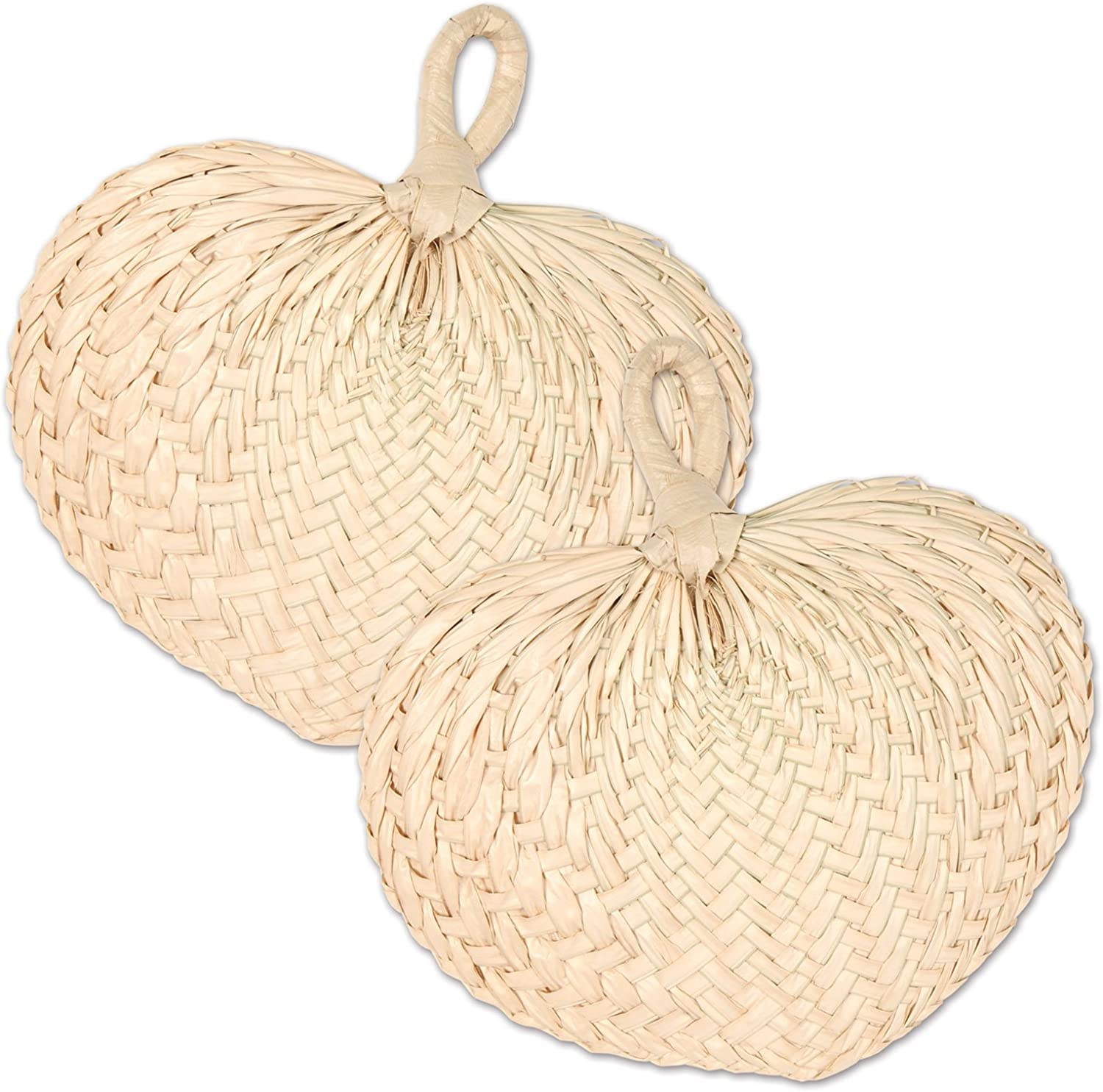 Raffia Fans (Pack of 6)