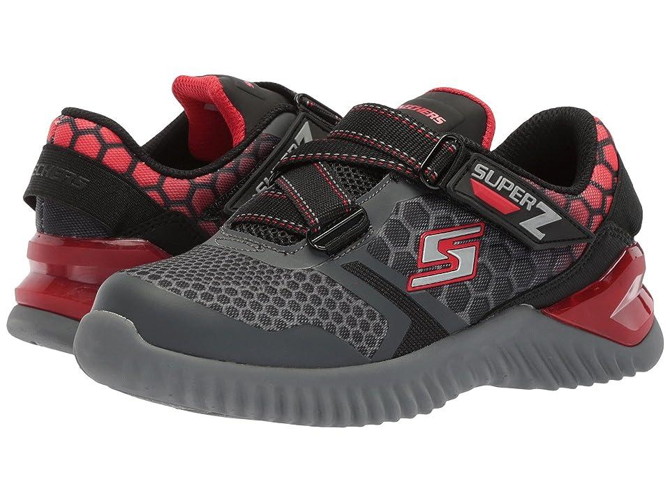 SKECHERS KIDS Ultrapulse (Little Kid/Big Kid) (Charcoal/Red) Boys Shoes