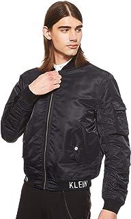 معطف رجالي من Calvin Klein جينز مطبوع عليه شعار Instit Hem Ma1
