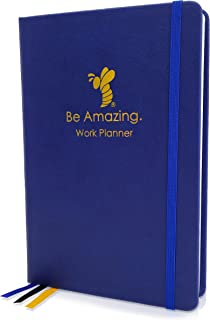 $28 » Tangie Marie Undated Daily Planner - Monthly for Teacher Women Men Leather Organizer Book Day Calendar Notebook