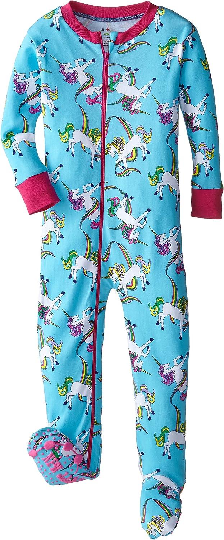 New Jammies Big Girls  Organic Pajama Classic Stripes
