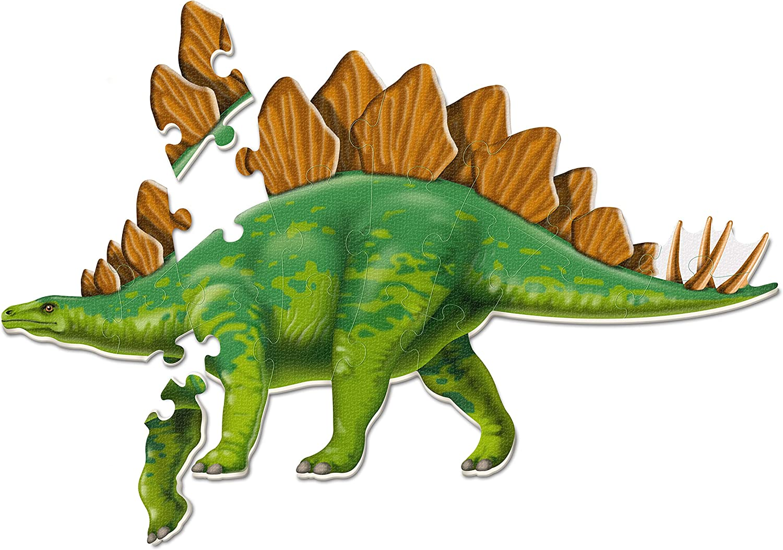 Learning Resources Jumbo Dinosaur Floor Puzzle, Stegosaurus