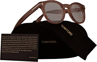 6b4a7405eb Tom Ford FT5489 Eyeglasses 48-22-145 Pink Transparent w Demo Clear Lens