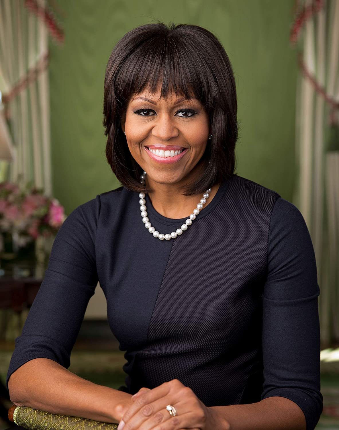 Official portrait of First Lady High quality Hist - Obama Photograph Large special price Michelle