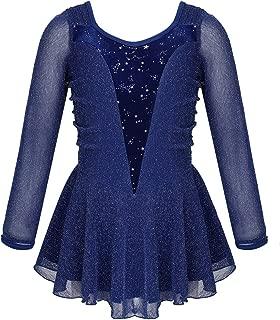 ranrann Maillot de Danza Ballet para Ni/ña Manga de Encaje Leotardo Body Cl/ásico de Gimnasia R/ítmica Patinaje Traje de Bailarina Yoga Baile