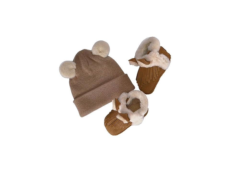 UGG Kids Darlala Boxed Set (Infant/Toddler) (Chestnut) Girls Shoes