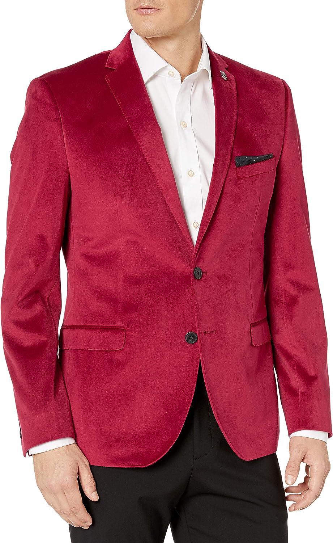 Nick Graham Popular brand in the world Men's Velvet Blazer High order