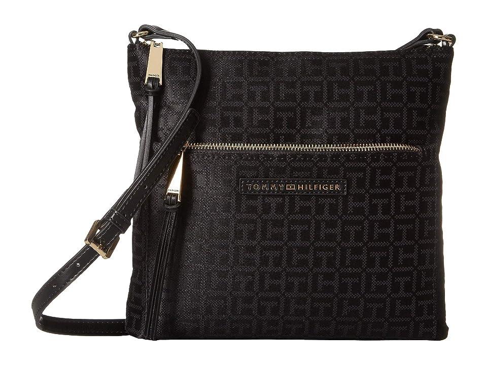 Tommy Hilfiger Althea Crossbody (Black/Tonal) Handbags