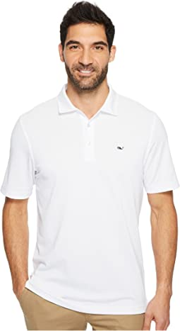 Vineyard Vines Golf - Tempo Solid Oxford Polo