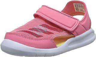 cf7d08bc58d adidas Girls Swimming FortaSwim Sandals Strap Slides Summer Beach Pink