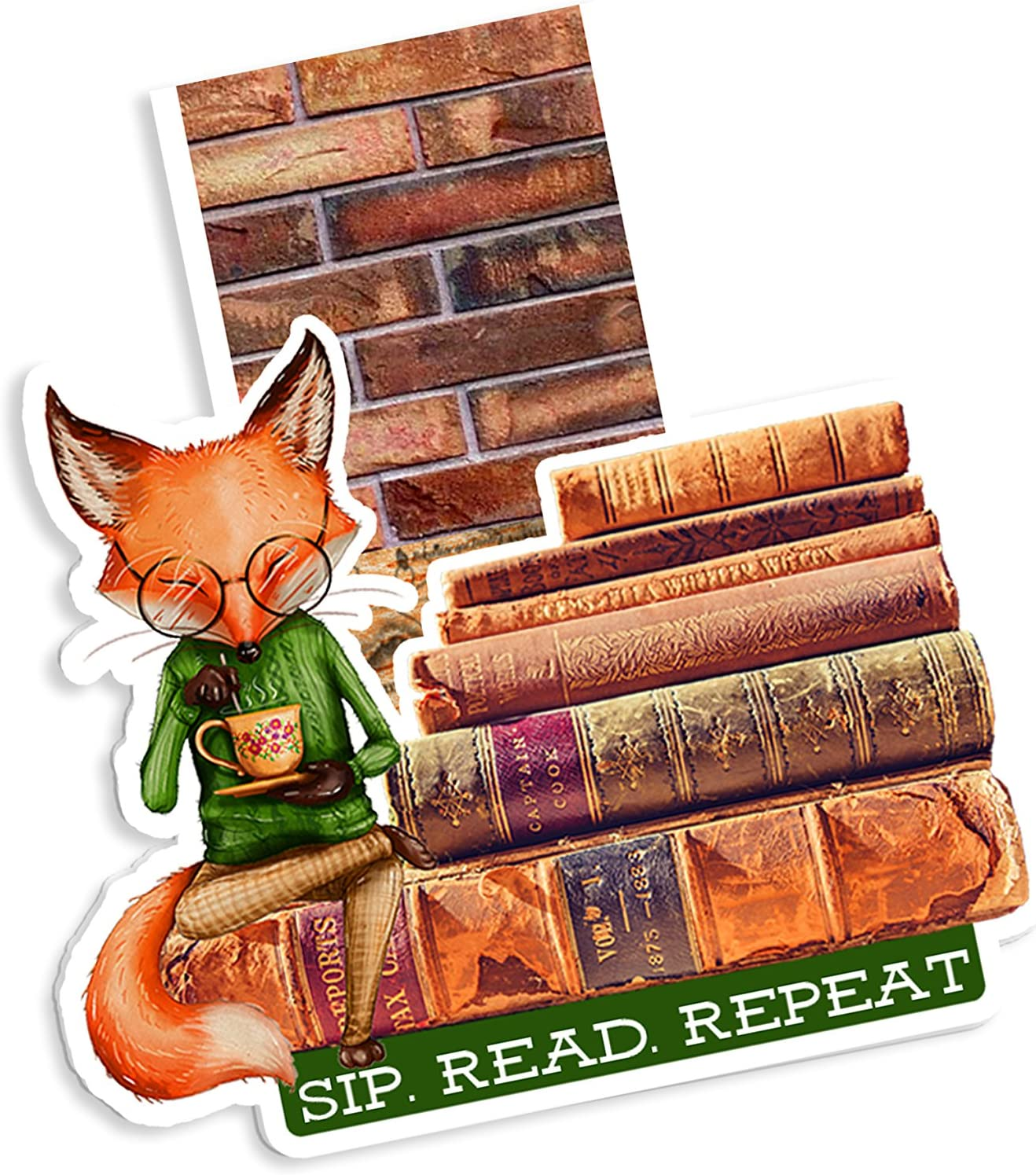 Woodland Magic Magnetic Bookmark Sale price Planner Super-cheap Fox Teat Page Marker
