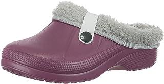 Brandsseller Zuecos para mujer, zapatos de jardín, zapatos forrados, unisex