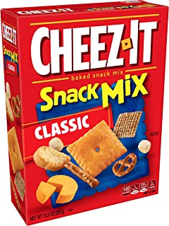 Cheez-It Baked Snack Mix, Classic, 10.5 oz Box