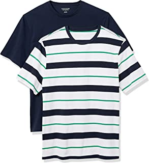 Amazon Essentials Men's 2-Pack Loose-fit Crewneck T-Shirt