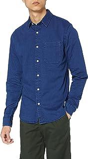 Calvin Klein Jeans Men's Calvin Klein Shirts, Mid Indigo, S