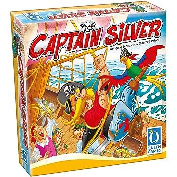 "Queen Games 30061 - ""Captain Silver"" Brettspiel DE, GB"