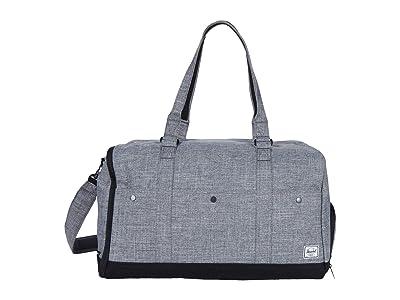 Herschel Supply Co. Bennett (Raven Crosshatch) Duffel Bags