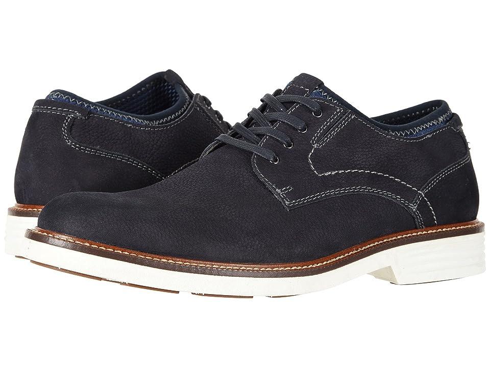 Dockers Parnell Alpha Plain Toe Oxford (Navy Suede) Men