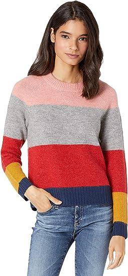 Color-Block Raglan Pullover