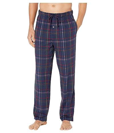 Tommy Bahama Knit Plaid Pajama Pants (Holiday Plaid/Ocean Deep) Men