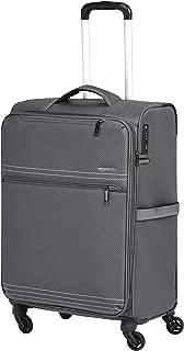 AmazonBasics Lightweight Softside Spinner Suitcase Luggage with Wheels