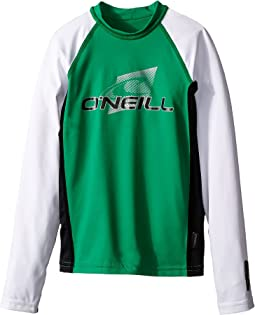 O'Neill Kids Skins Long Sleeve Crew (Little Kids/Big Kids)
