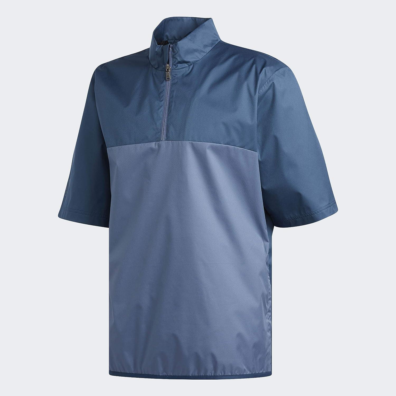 adidas Golf Men's Free Shipping Cheap Bargain Gift Climastorm Provisional Pullo Sleeve Many popular brands Rain Short