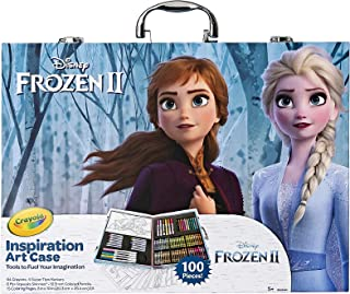 Best Crayola Frozen 2 Inspiration Art Case, 100 Art & Coloring Supplies, Gift for Age 5, 6, 7, 8 Review