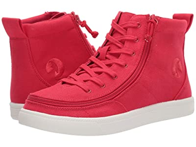 BILLY Footwear Classic Lace High Canvas (Red) Women