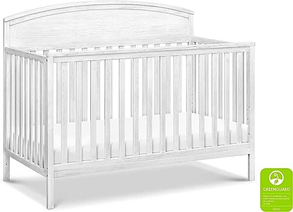 Davinci Liam 4 In 1 Convertible Crib Cottage White
